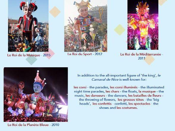 Le Carnaval et le Mardi Gras