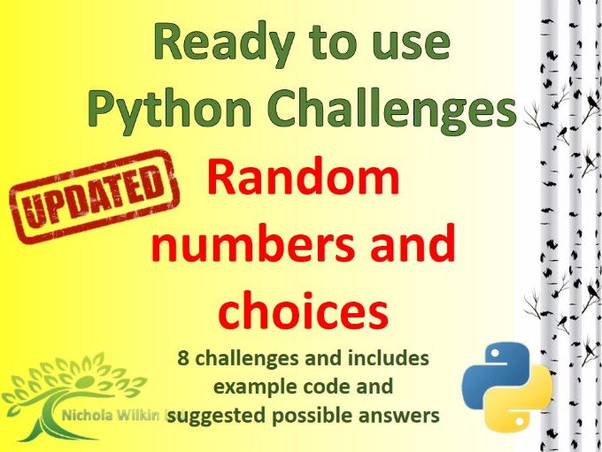 Python Random Numbers and Choices