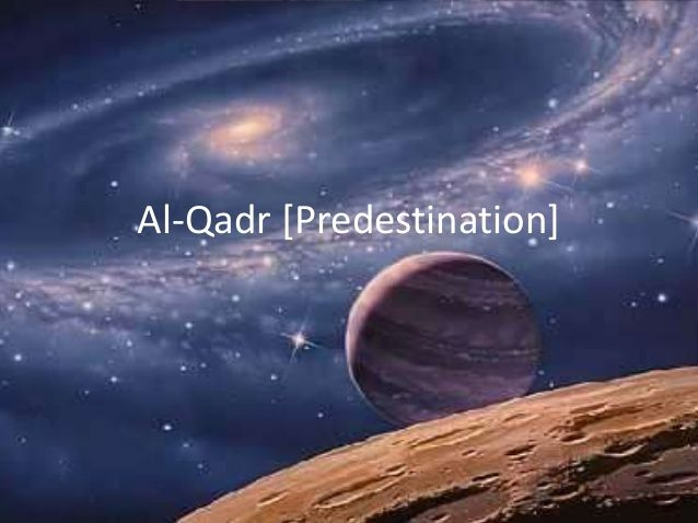 Predestination vs Human Freedom (Al-Qadr) In Islam (GCSE AQA Spec A)