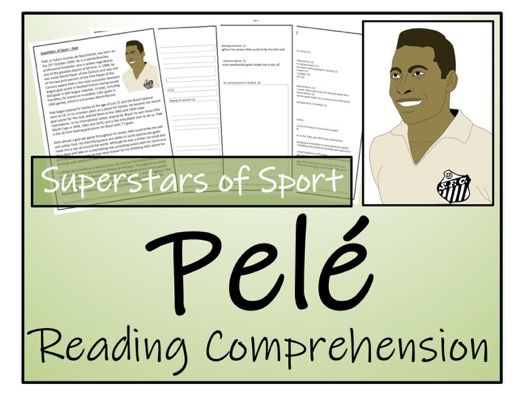 UKS2 Literacy - Pelé Reading Comprehension Activity
