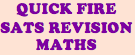 Year 6/P7/Key Stage 2 Maths SATS Quick Fire Revision Cards