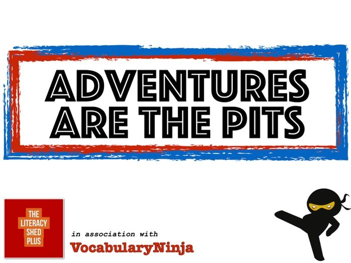Adventures are the Pits Vocabulary Pack