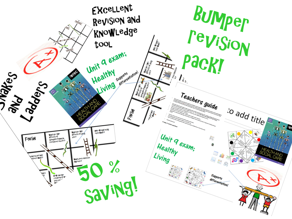 H and SC, Exam Unit 9, fun revision, bumper pack