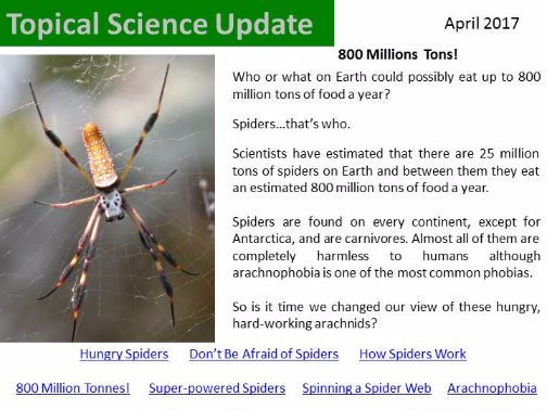 Topical Science Update - April 2017