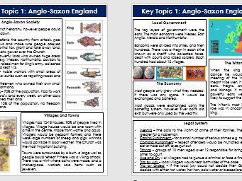 Anglo-Saxon and Norman England Revision Guide