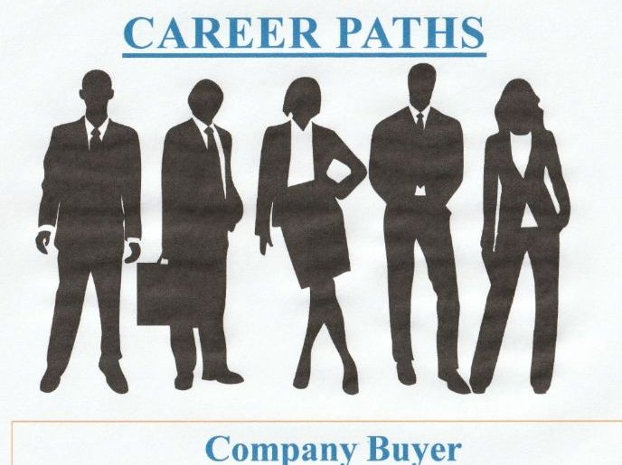 Power Point Pres. = Career Paths - Company Buyer