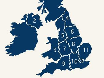 Regions of the UK