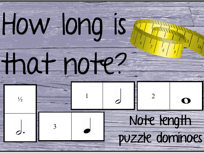 How long is that note? (Musical note length puzzles)