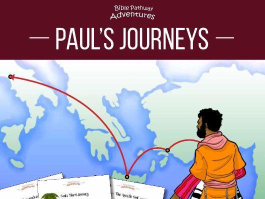Paul's Journeys Quiz Activity Book