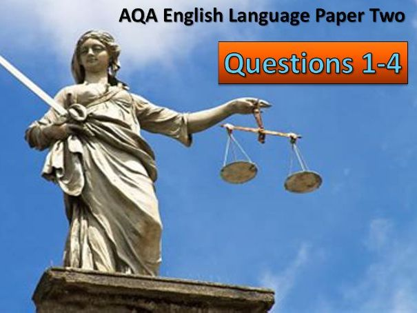 AQA English Language Paper 2; Revision.