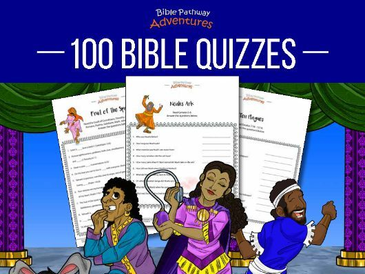 100 Bible Quizzes Activity Book
