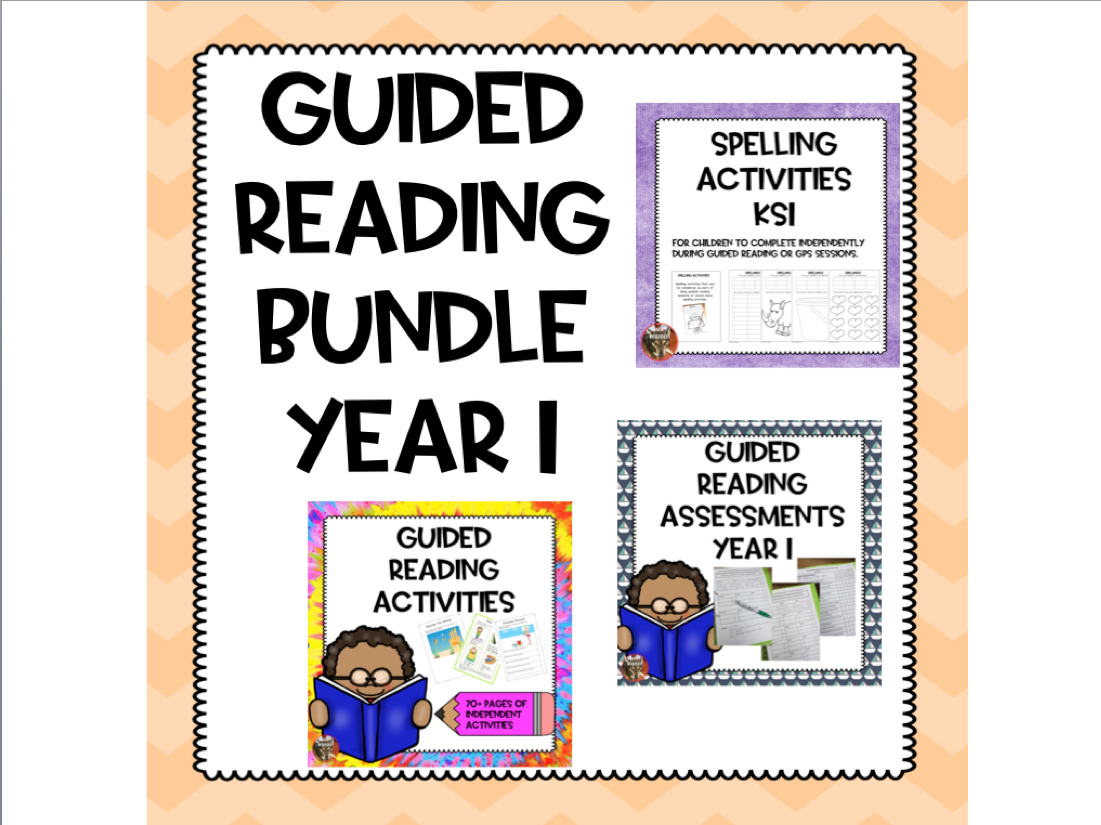 Guided Reading Bundle Year 1