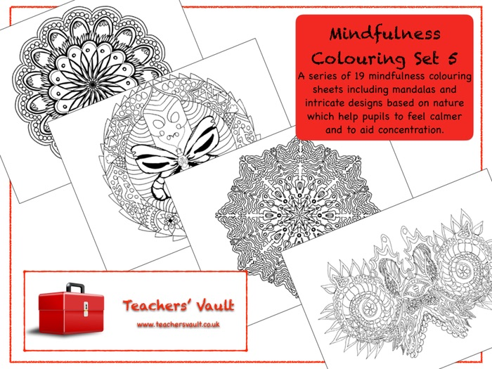 Mindfulness Colouring Set 5
