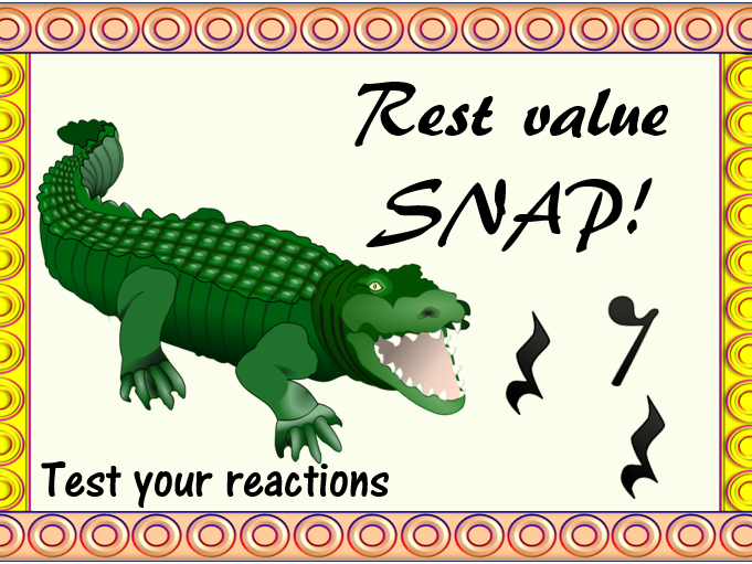 Musical Rest Value Snap
