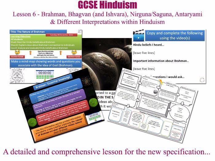 GCSE Hinduism - Lesson 6/20 [Brahman, Bhagvan (and Ishvara), Nirguna/Saguna, Antaryami, Smartism]