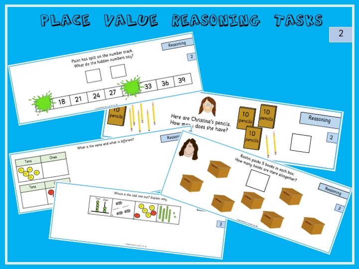Year 2 Number and Place Value Reasoning Tasks