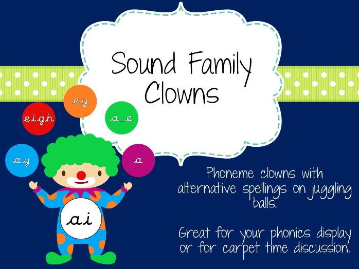 Sound family clowns