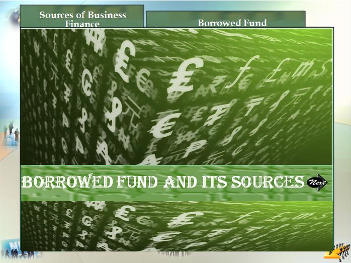 Fund Management- Borrowed Fund