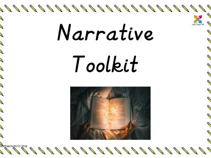 Writing toolkit – Narrative – Roald Dahl themed