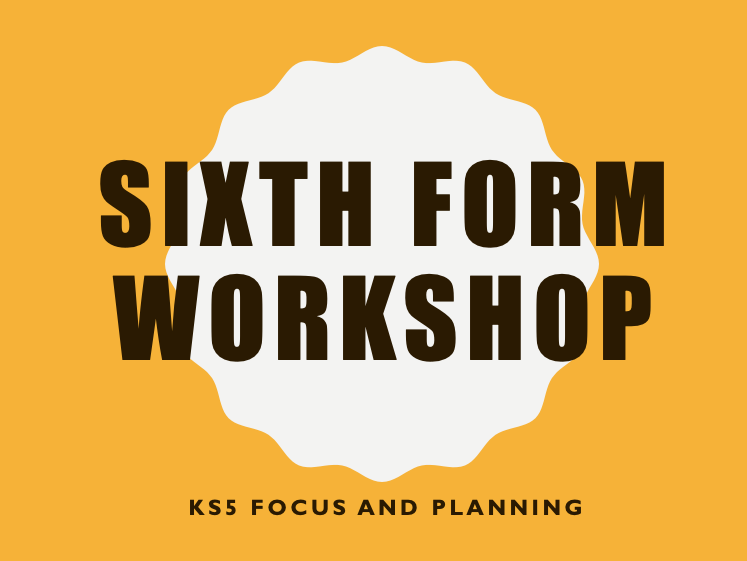 KS5 Staff Training Workshop- The Learning Curve and Subject Elevator Pitch