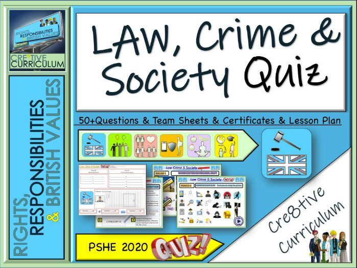 Law Crime & Society Quiz