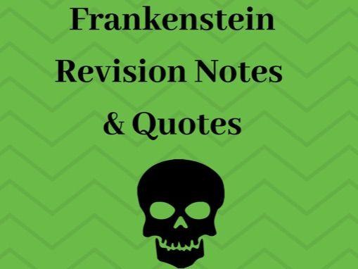 Frankenstein: GCSE Notes & Quote Bank