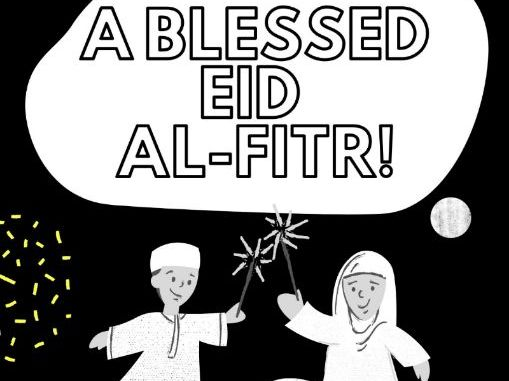 Eid Mubarak | Festival of Breaking the Fast | 15 Colouring pages