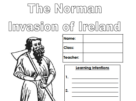 The Norman Invasion of Ireland (Pupil workbook)