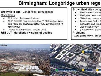 AQA Birmingham regeneration