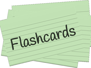 Flashcards: Better ways to make and study flashcards