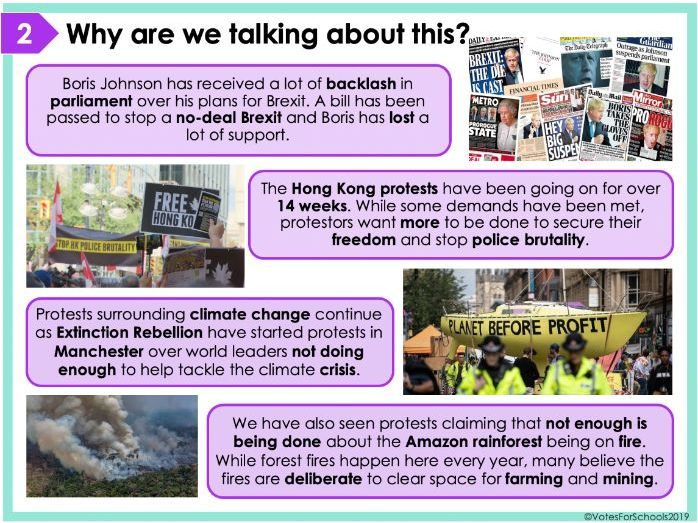 Are World Leaders Listening to Us? Free Secondary KS3/KS4 Debate Lesson & Assembly