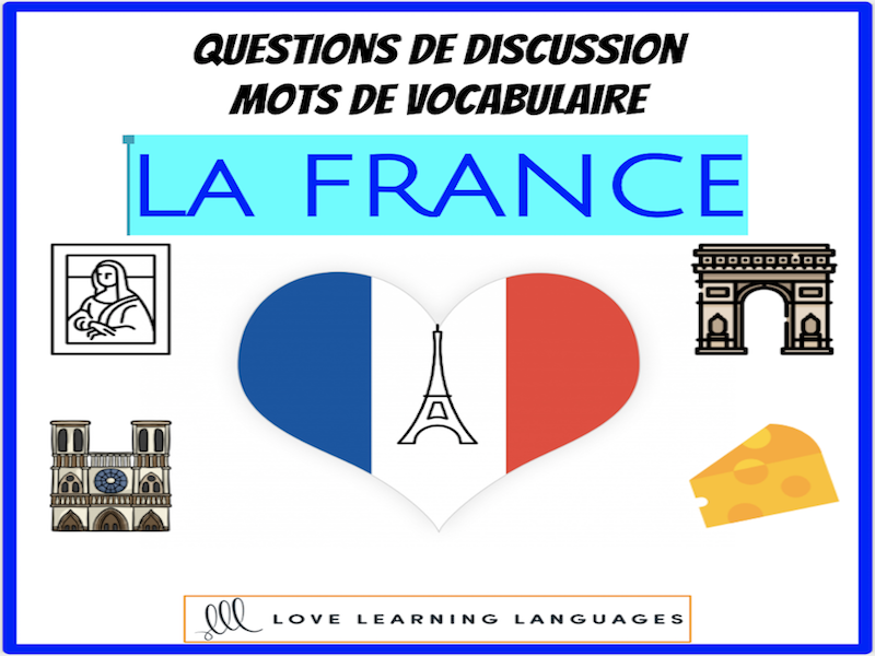 La France - Advanced French conversation questions about France