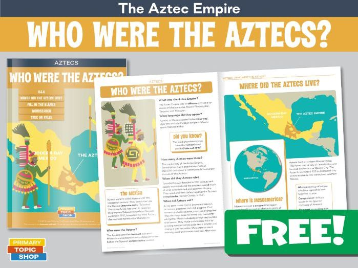 Who Were The Aztecs?