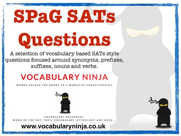 SPaG SATs Style Questions