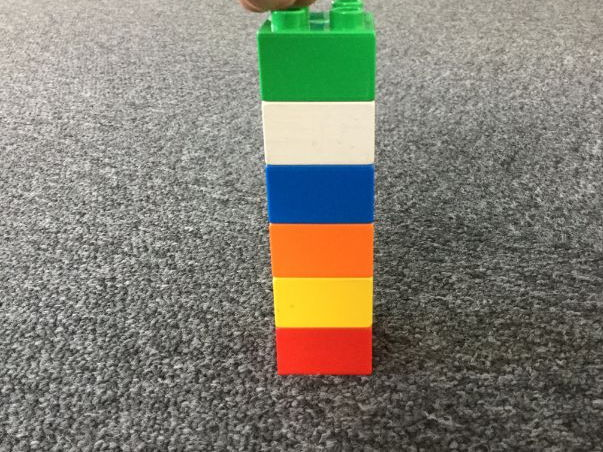 Duplo Tower. Lego-based Therapy
