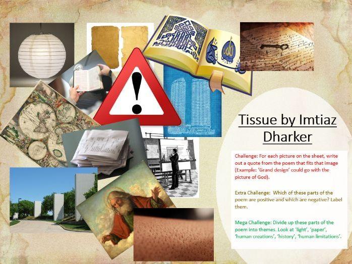 Tissue - Imtiaz Dharker