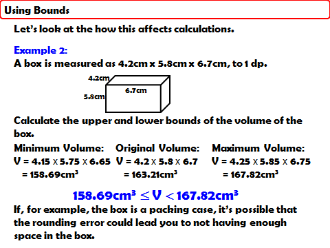 Problem solving with Upper & Lower Bounds