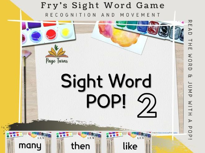 Fry's Sight Words PPT Game TOP 50 [2]