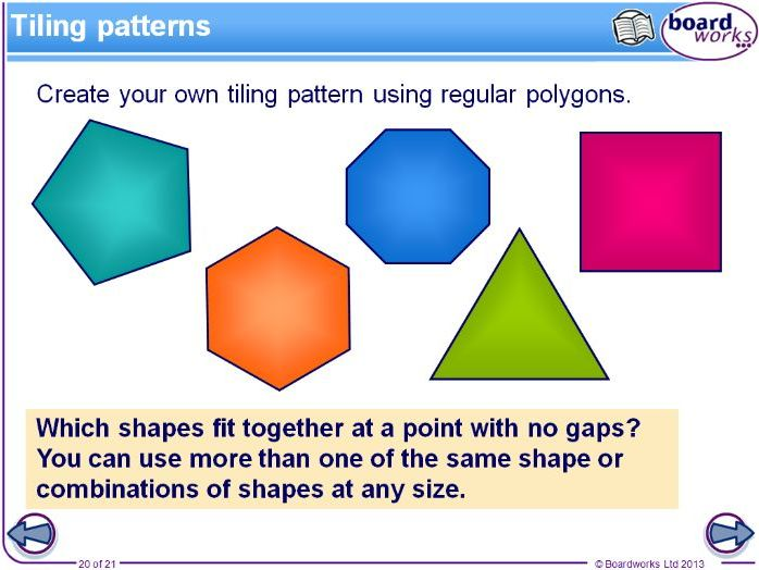 Complete Board Work and Video on Solving Polygons