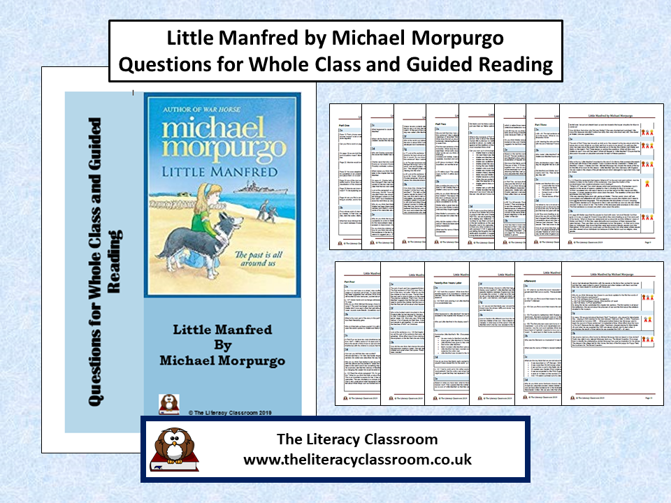 Little Manfred by Michael Morpurgo: Questions for whole class and guided reading (with answers)