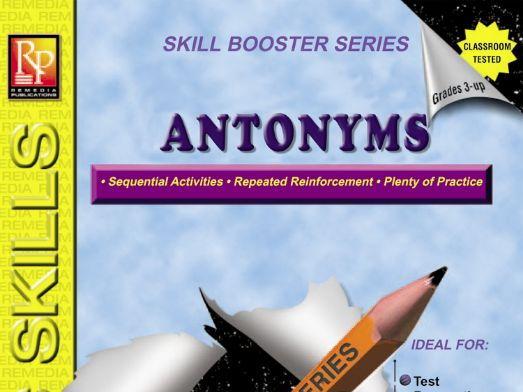 Antonyms: Skill Booster Series