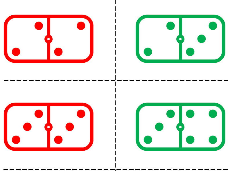 Number talks for domino games