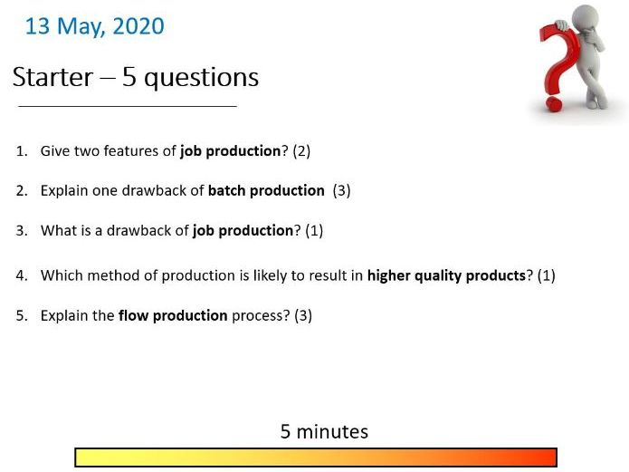 9-1 GCSE Business Theme 2 TRIAL starter questions, quiz, revision, knowledge recall