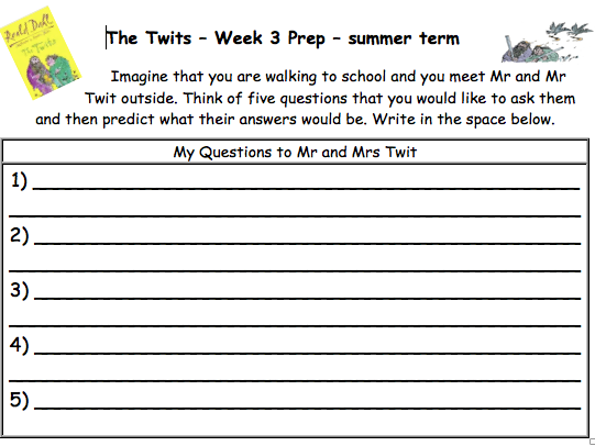 the twits guided reading activities by andytheedom
