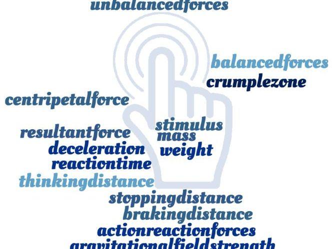 Forces & Stopping Distances Crosswords - EDEXCEL GCSE (9-1) Combined Science Paper 5