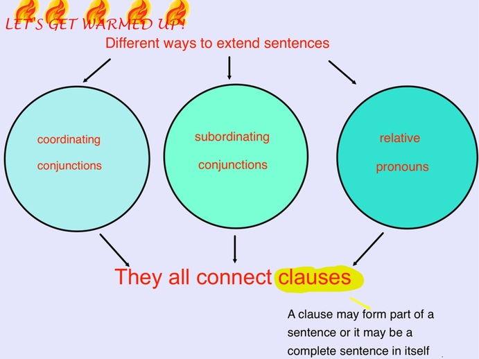 Extending sentences