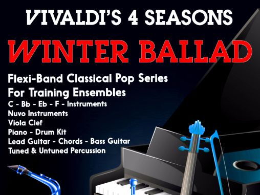 Vivaldi's 4 Seasons 'Winter Ballad' (Flexi-Band Score & Parts)