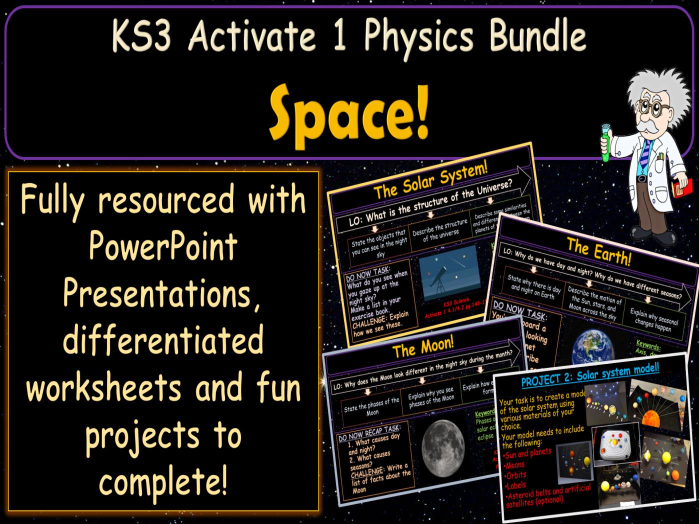Space Activate 1 KS3 Science bundle