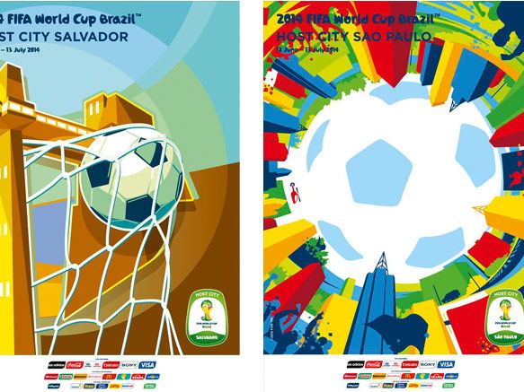 Football World Cup Artwork from 1930 - 2018  -the Iconic posters that defined the times