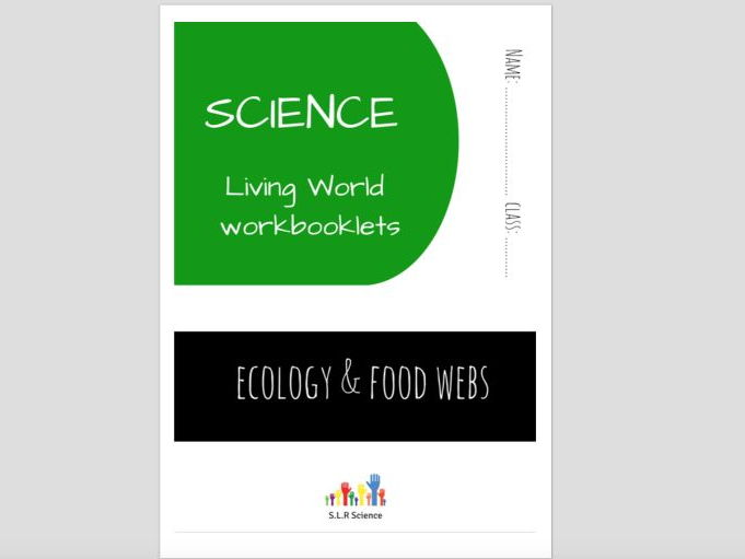 SPECIAL EDUCATION (SCIENCE) - FOOD WEBS, HABITATS & ECOLOGY workbooklet